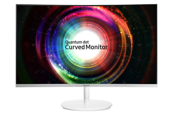 samsung introduces ch711 quantum dot monitor 001 c27h711 front white