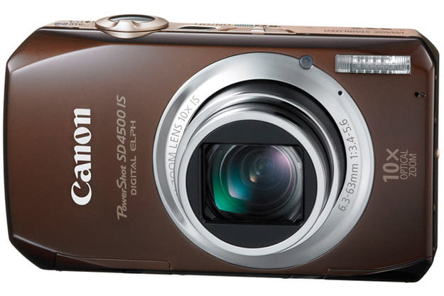 canon powershot sd4500 review 01 sd 4500 is front