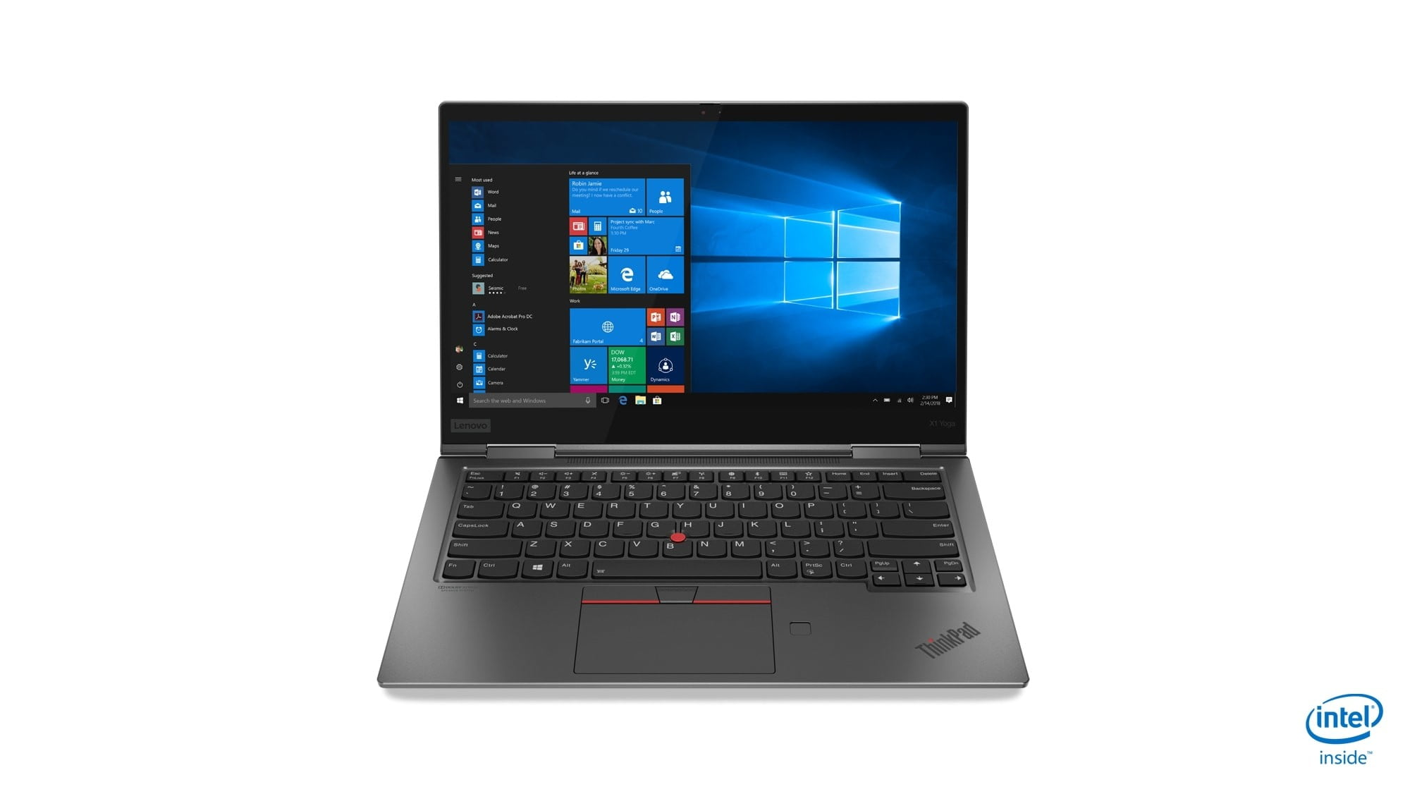 lenovo annouces new thinkpads with 10th gen cometlake 03 x1 yoga hero front facing jd