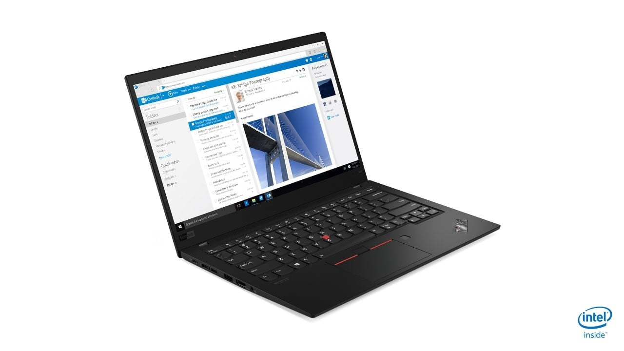 lenovo annouces new thinkpads with 10th gen cometlake 05 x1 carbon hero front facing right 1