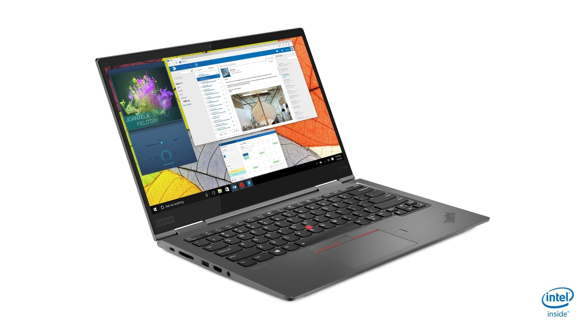 lenovo annouces new thinkpads with 10th gen cometlake 06 x1 yoga hero front facing right