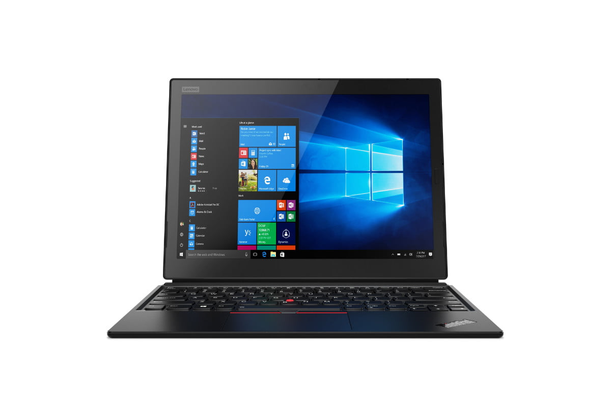 lenovo introduces updated thinkpad x1 line 11 tablet hero front forward facing jd