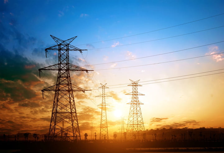 malware industroyer critical infrastucture 13920697  high voltage post tower sky background