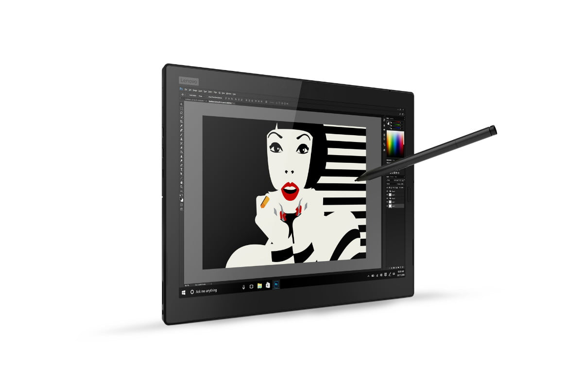lenovo introduces updated thinkpad x1 line 13 tablet with pen hero front facing ir camera right