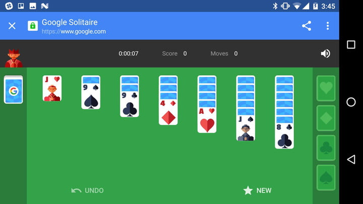 google solitaire tic tac toe search