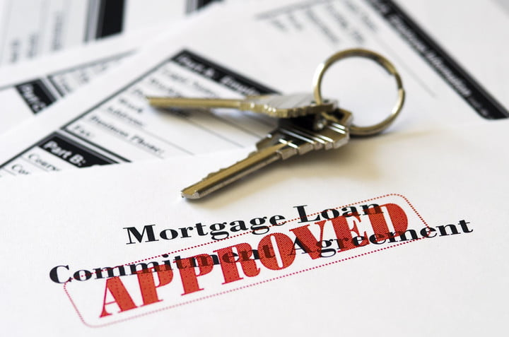 approved loan mortgage documentation system 14556659  real estate document with house keys