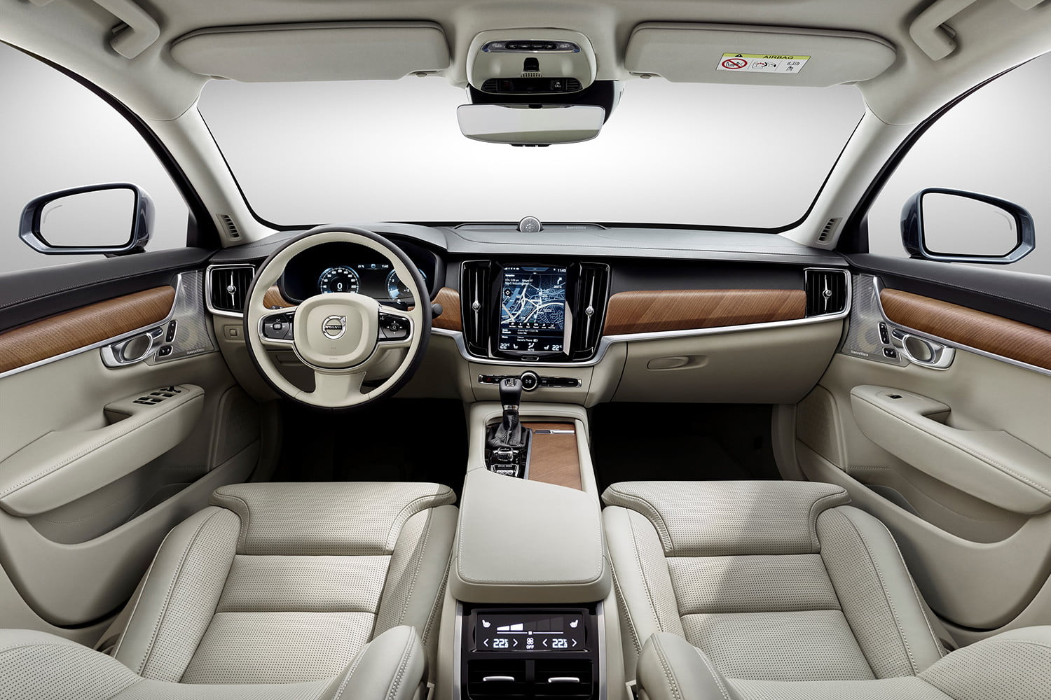 dt cars top stories of 2015 170101 interior blond volvo s90