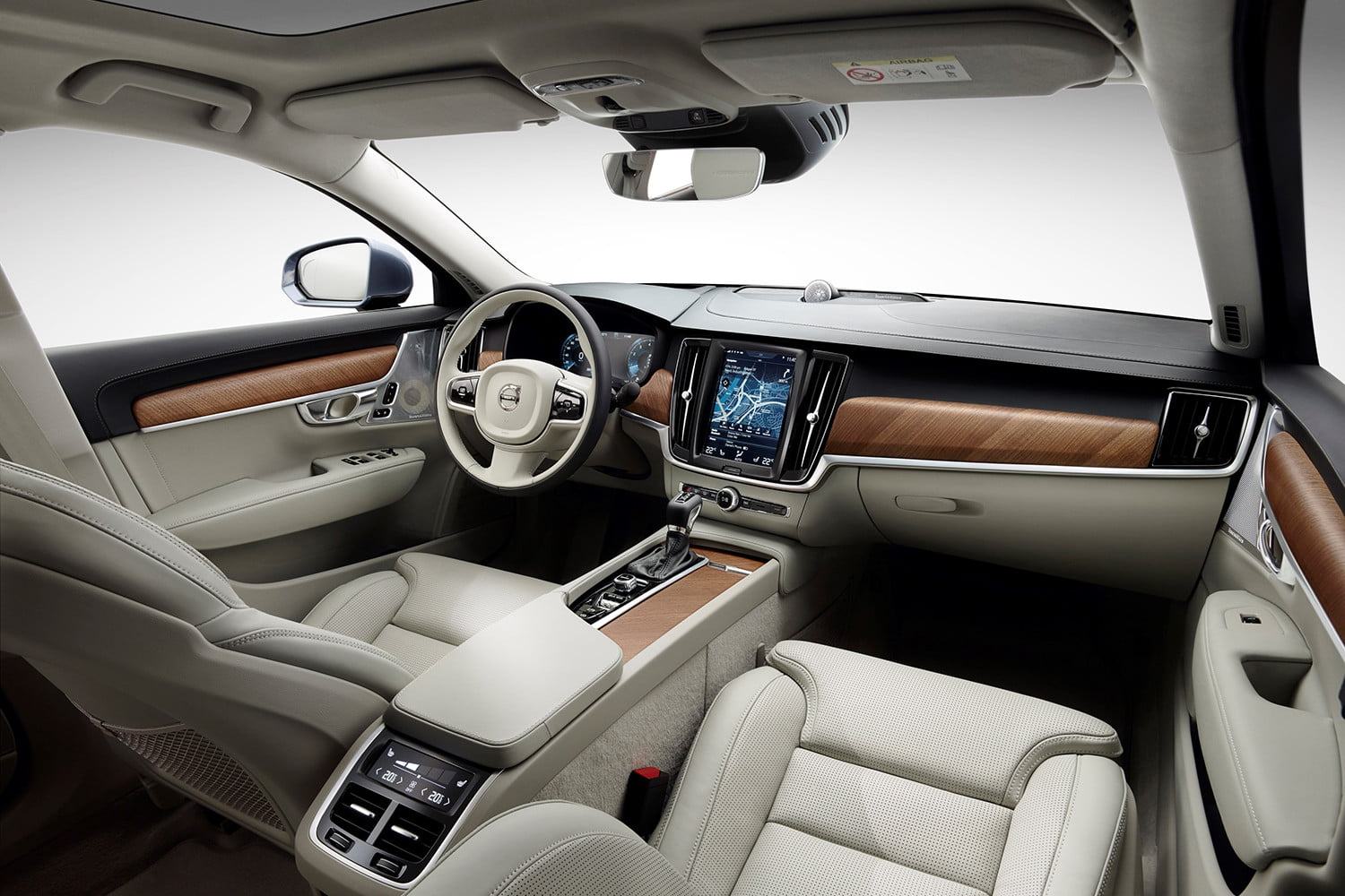 dt cars top stories of 2015 170161 interior cockpit volvo s90 blond