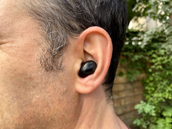 1More ColorBuds 2 true wireless earbuds close-up.
