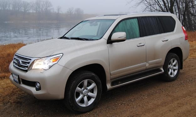 2011 lexus gx460 review driver side angle
