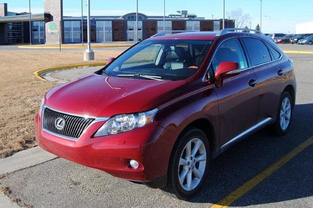 2011 lexus rx350 review front angle
