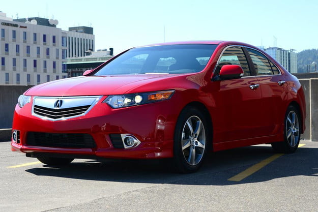 2012 acura tsx special edition review accura exterior front leftangle