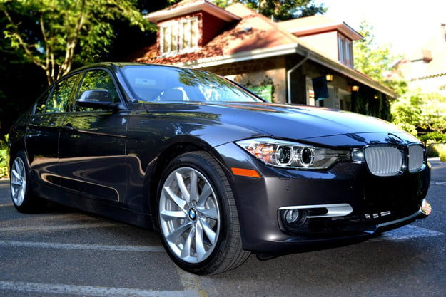 2012 bmw 335i review exterior front left angle