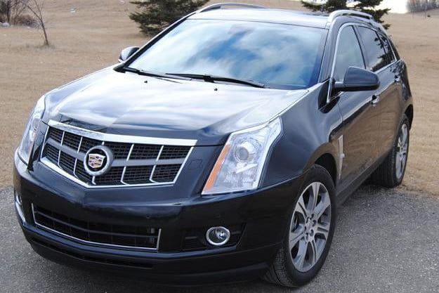 2012 cadillac srx review front