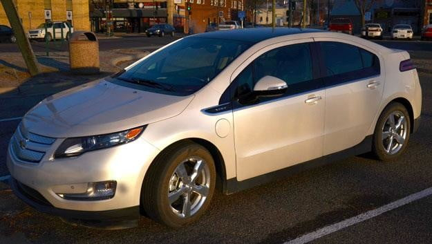 2012 chevy volt review driver side