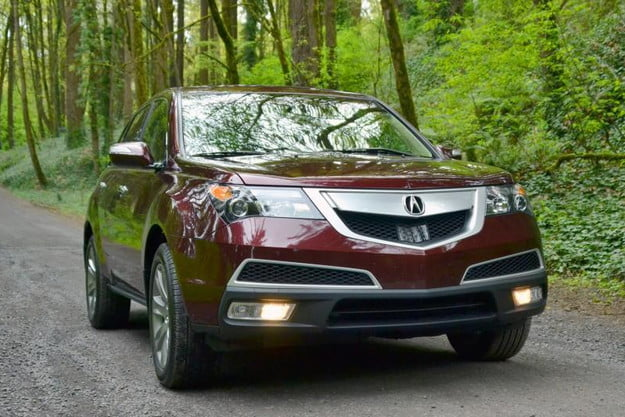 2013 acura mdx review advance exterior front 800x600