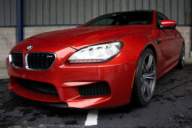 2013 BMW M6 front right angle