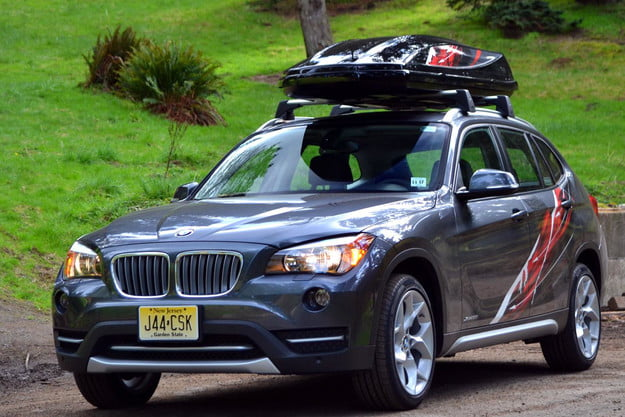 2013 bmw x1 review front right angle