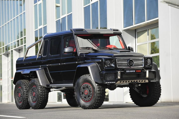 frankfurt 2013 survive the apocalypse in style with brabus b63s 700 6x6 based on mercedes benz g63 amg auto show 100439630 l