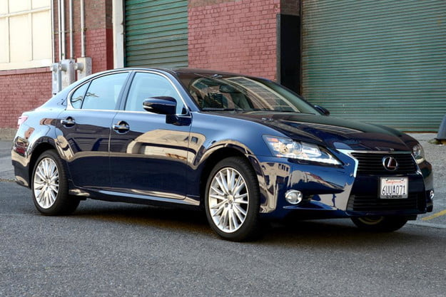 2013 lexus gs 350 review front angle