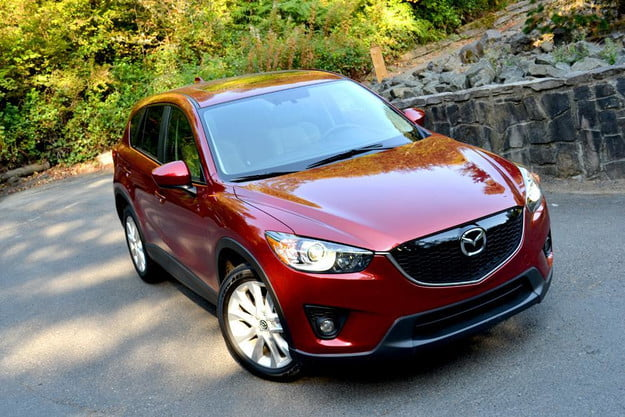 2013 mazda cx 5 review exterior front left angle