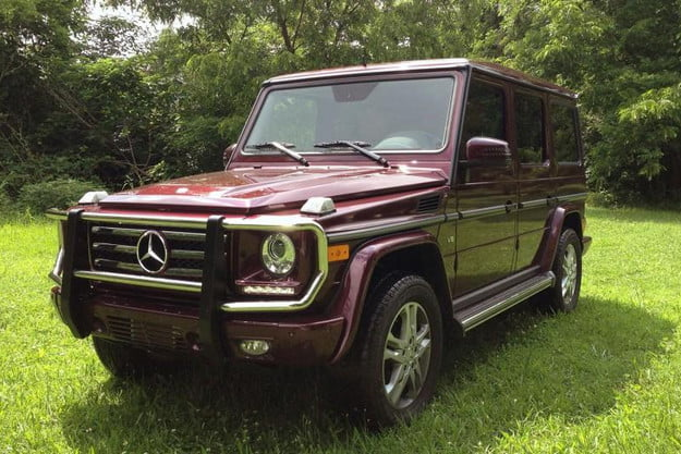2013 mercedes benz g550 review suv exterior front left angle 800x600