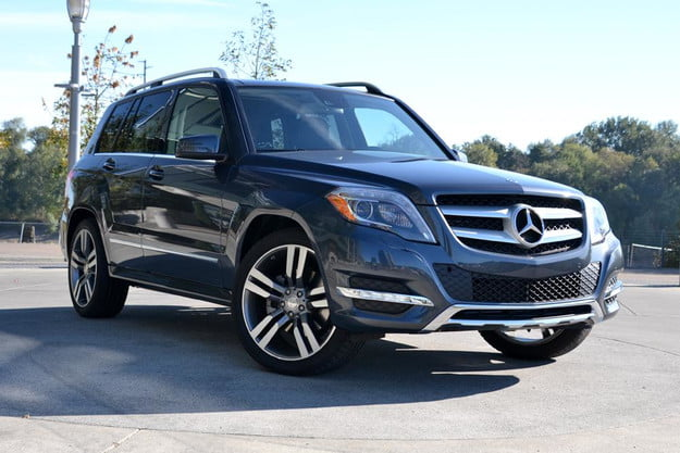 2013 mercedes benz glk350 4matic review exterior front left angle