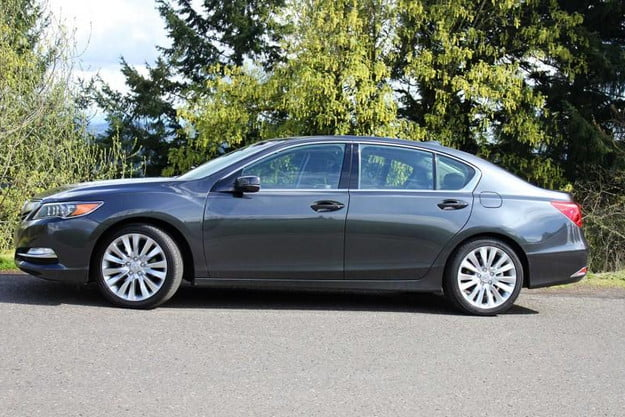 2014 acura rlx advance review exterior left side6 800x600