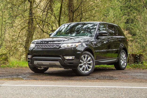 2014 Land Rover Range Rover Sport front