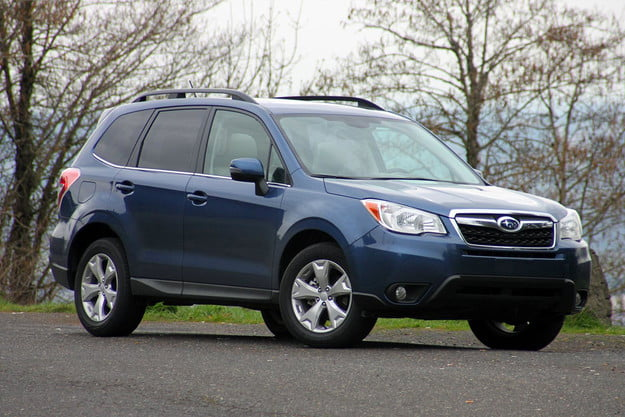 2014 subaru forester 2 5i touring cvt front right