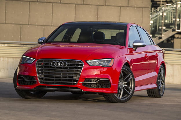 2015 Audi S3 front angle 2