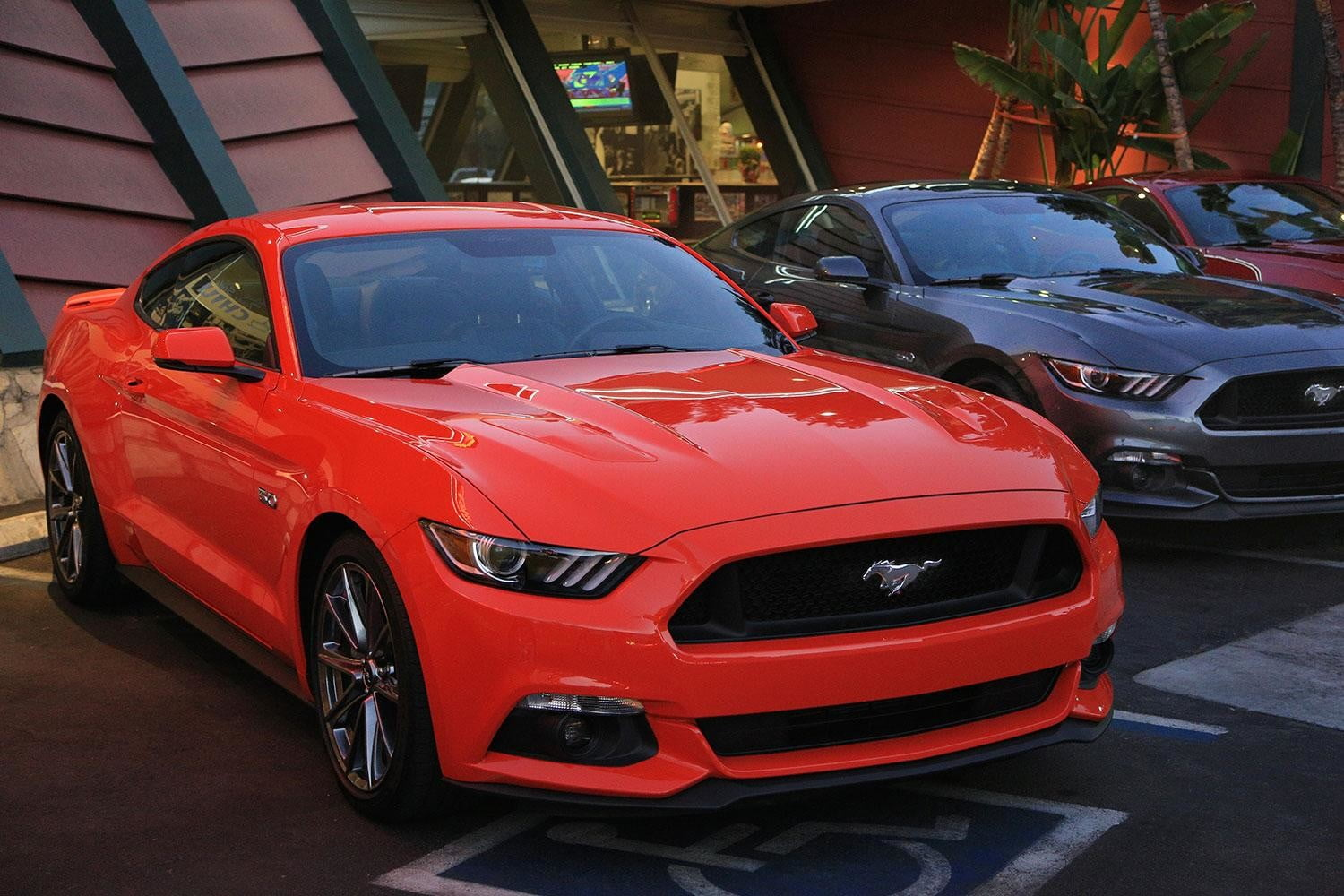 2015 Ford Mustang line up