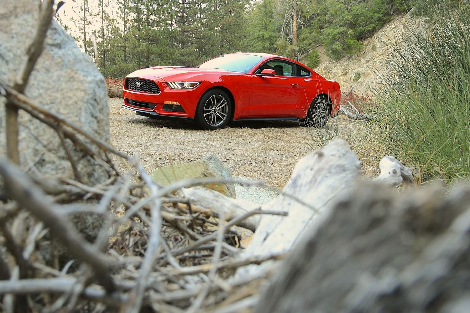 2015 Ford Mustang side