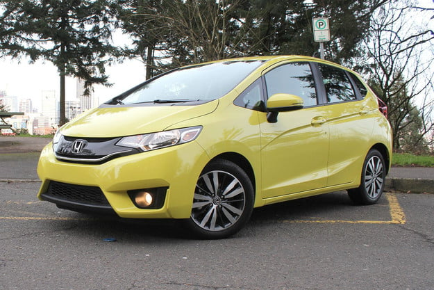 2015 Honda Fit front side angle