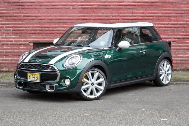 2015 mini cooper s hardtop review front angle