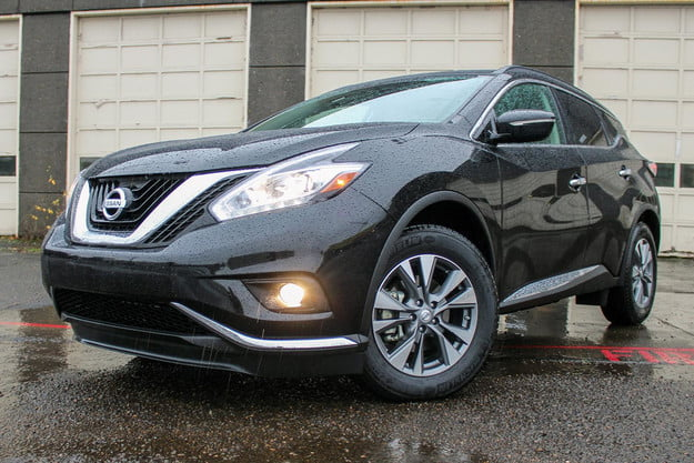 2015 nissan murano sv review front angled v2