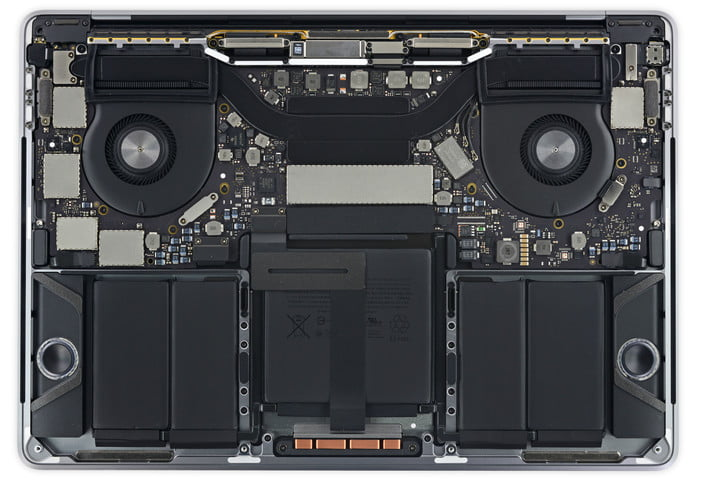 2016 macbook pro touch bar ifixit teardown with insides