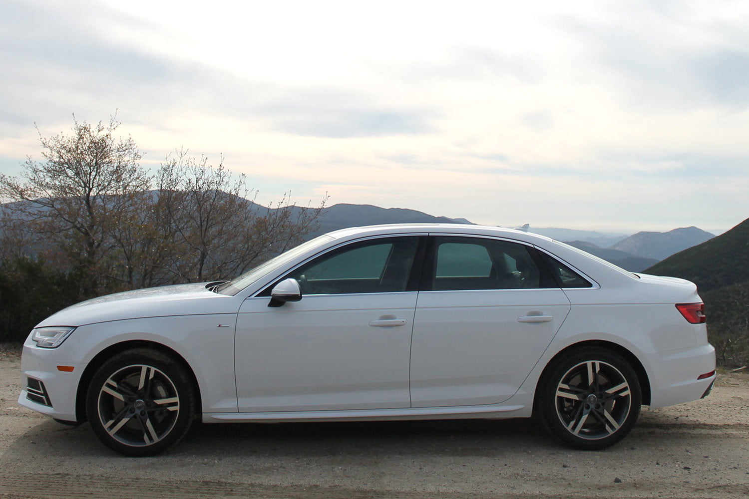 2017 audi a4 first drive left side