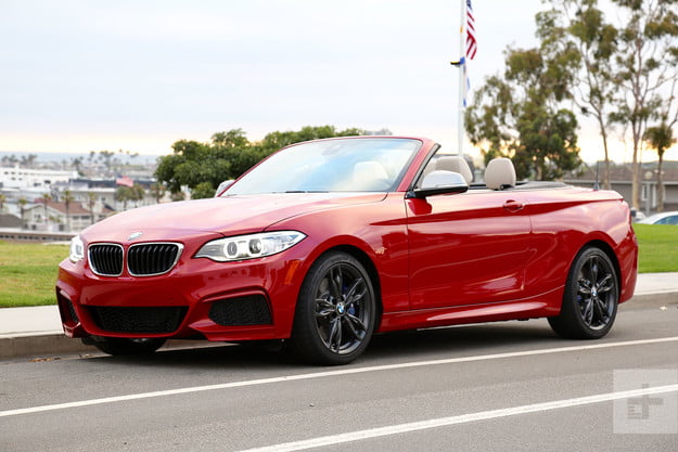 2017 BMW M240i Review front angle 2