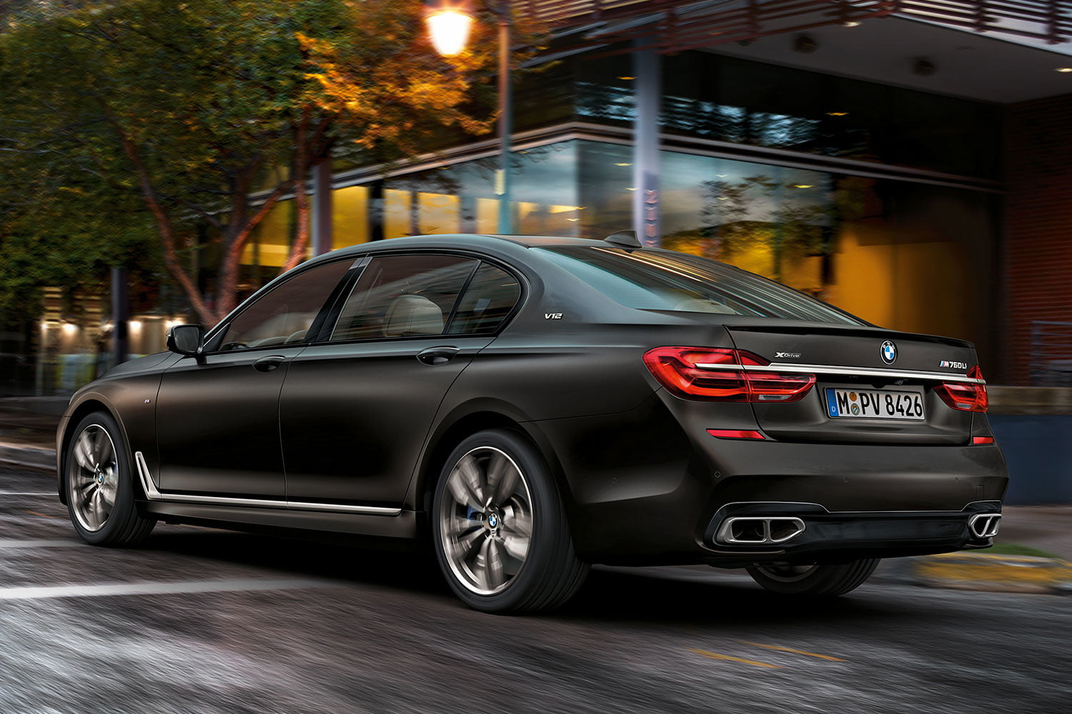 bmw is returning to its m car roots and ushering iperformance into the spotlight 2017 m760li xdrive 001