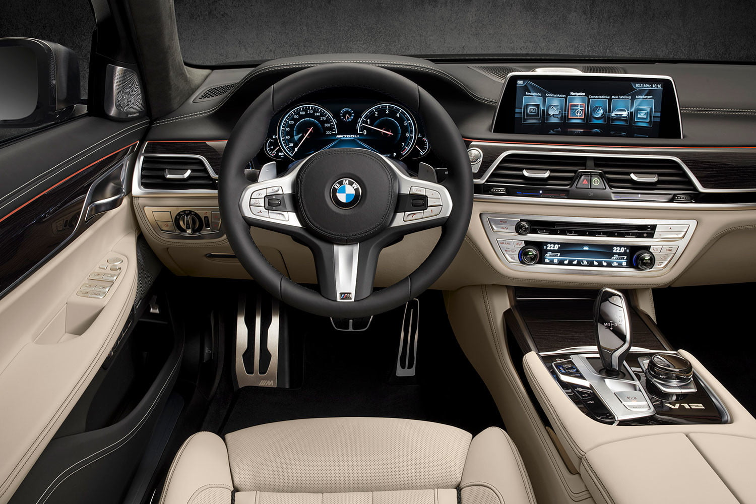 bmw is returning to its m car roots and ushering iperformance into the spotlight 2017 m760li xdrive 0023