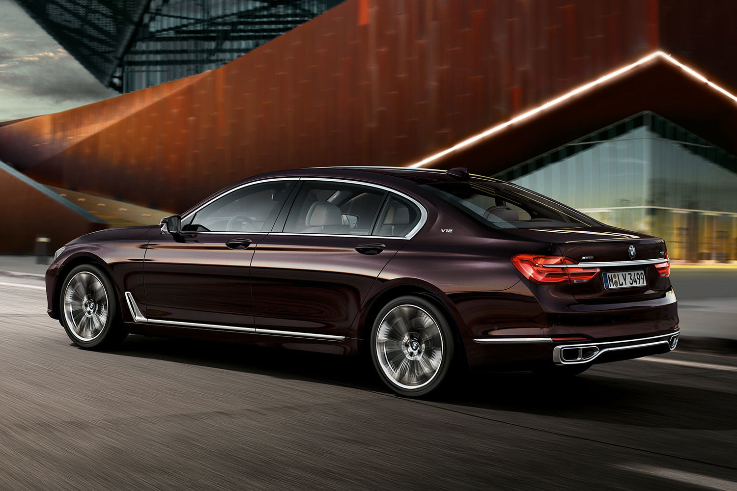 bmw is returning to its m car roots and ushering iperformance into the spotlight 2017 m760li xdrive 009