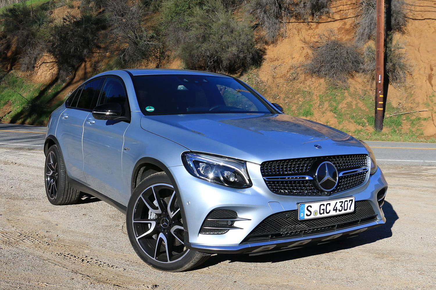2017 mercedes amg glc43 coupe first drive 1