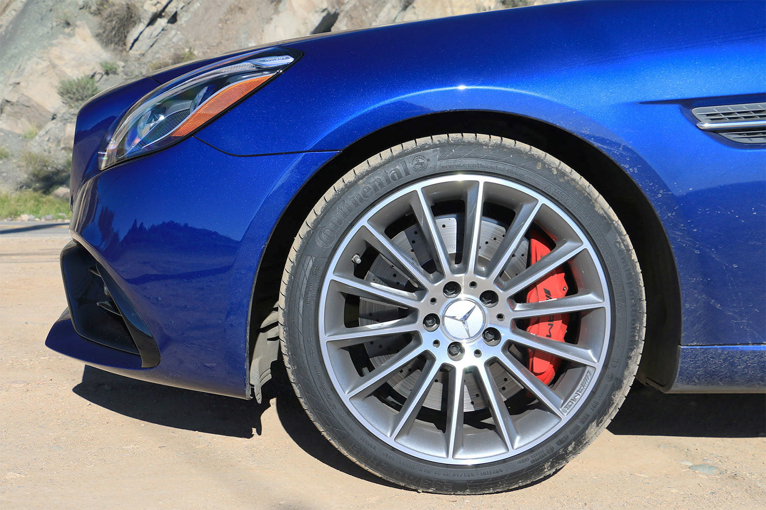 2017 mercedes amg slc43 first drive review tire