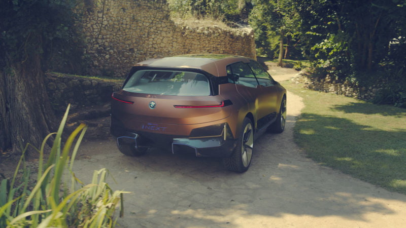 the bmw vision inext concept leaked before its official reveal 2018 leak  1