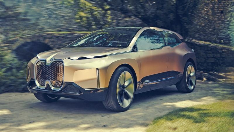 the bmw vision inext concept leaked before its official reveal 2018 leak