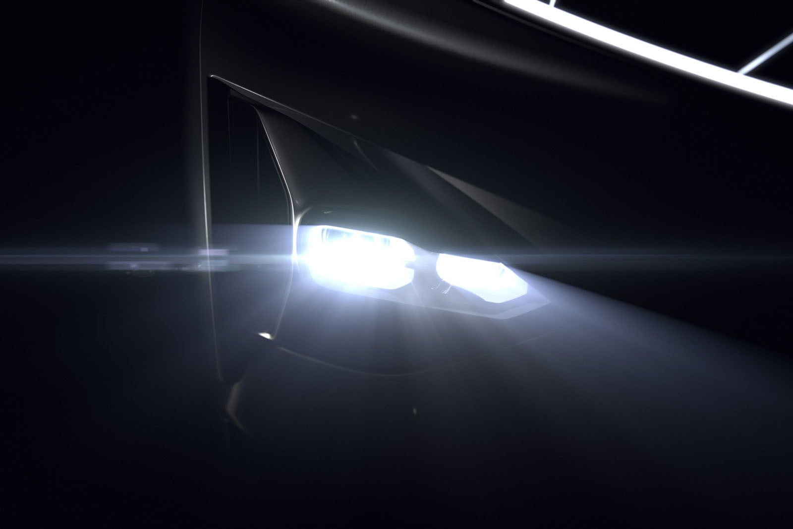 chinese ev startup byton teases new electric suv for ces on january 7 2018  teasers 4