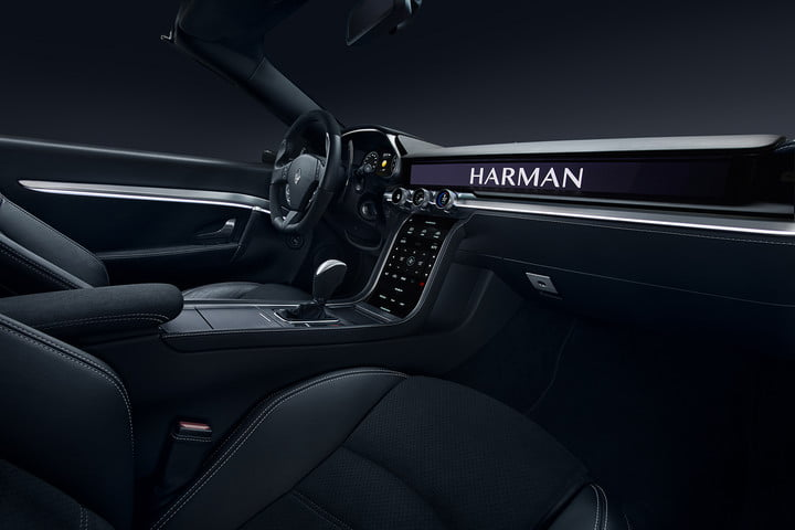 harman anfuture in autonomous driving and car connectivity at ces 2018  samsung reveal future 3