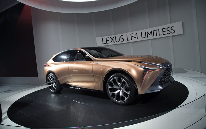 the lexus lf 1 limitless concept previews a new direction for flagship crossover 2018 detroit  11