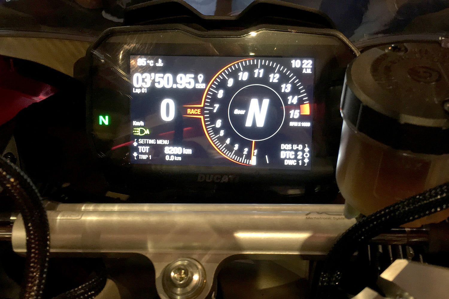 ducati 2018 motorcycle preview panigale v4 s display